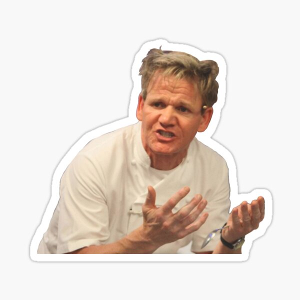 Gordon Ramsay Sticker