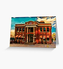Union Pacific Railroad Greeting Card