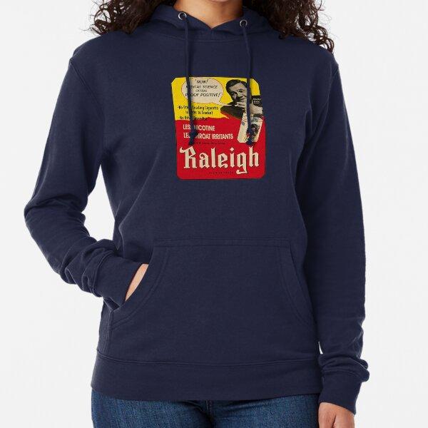 Raleigh Cigarettes - Vintage Ad Lightweight Hoodie