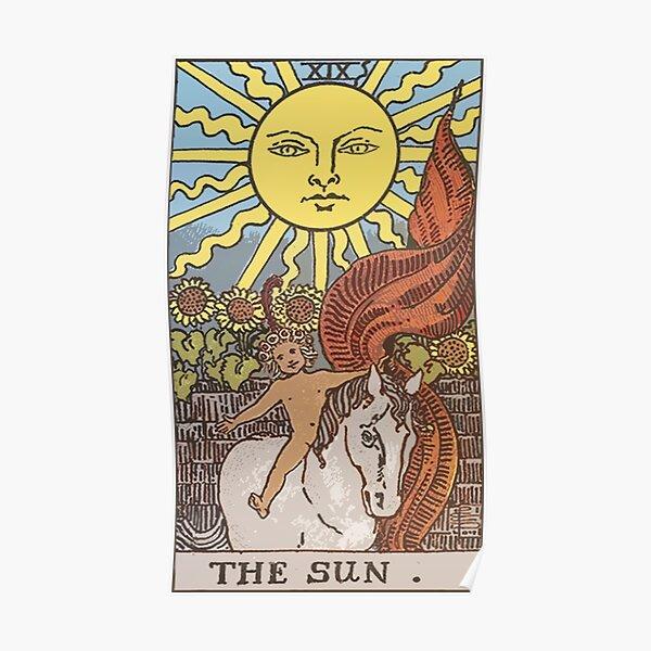 Tarot - The Sun Poster