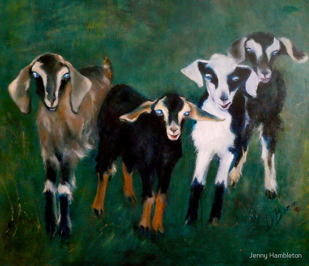 Trouble- Goats by Jenny Hambleton