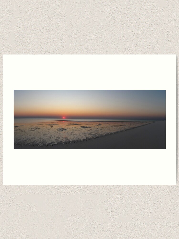 Alternate view of Sunset at Bedwell Island Art Print