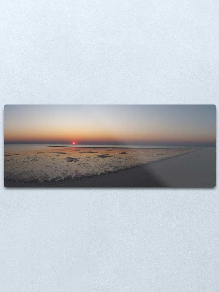 Alternate view of Sunset at Bedwell Island Metal Print
