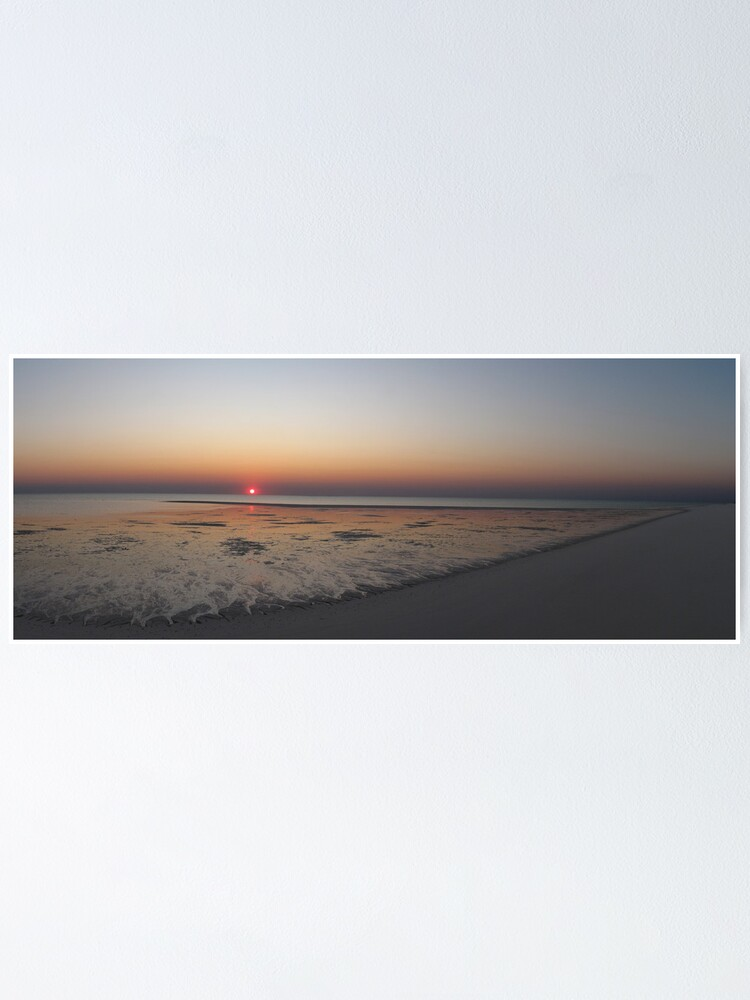 Alternate view of Sunset at Bedwell Island Poster