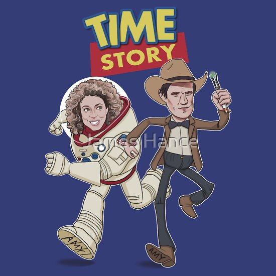 TShirtGifter presents: Time Story (Doctor Who / Toy Story)