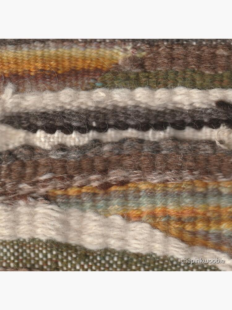 Weaving in Earthy Tones by thepinkwoobie