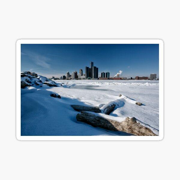 Windsor Riverfront Winter Sticker