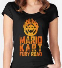 Mario Kart Fury Road Women's Fitted Scoop T-Shirt