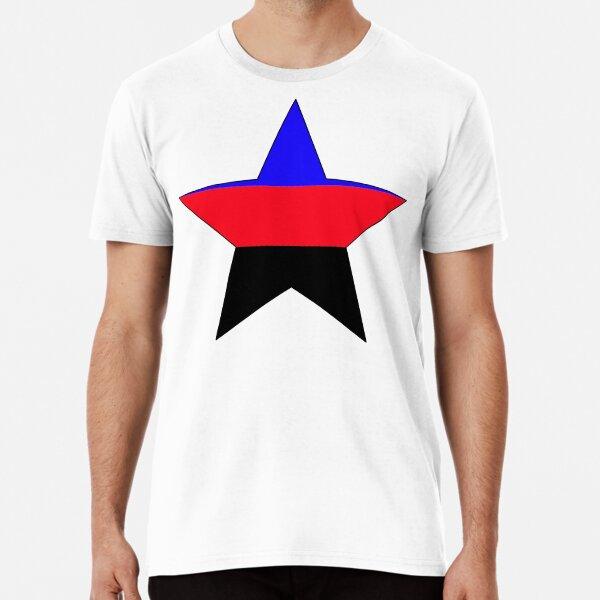 Polyamorous Flag Star Art Premium T-Shirt