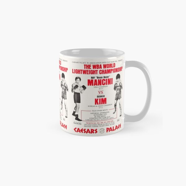 Boxing t-shirt and poster: Clash of toughness Classic Mug
