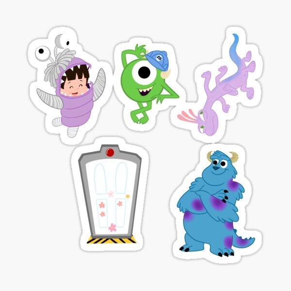 Working Monsters Sticker Bundle Sticker