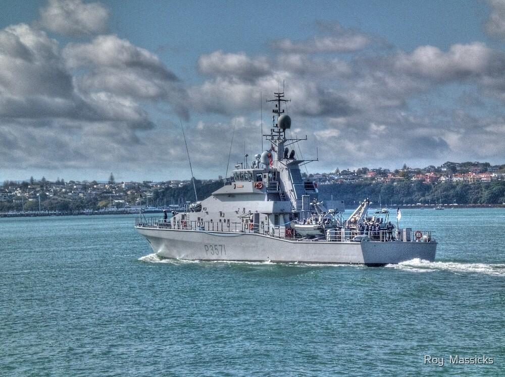 Inshore patrol boat ' HAWEA'.... by Roy  Massicks