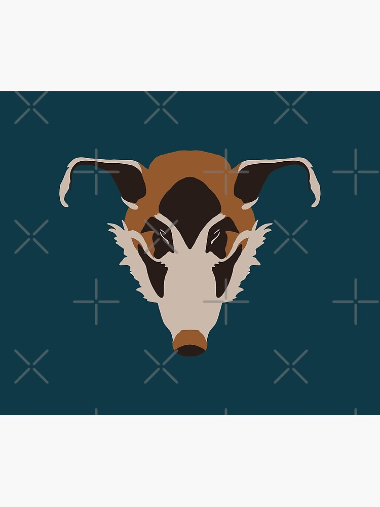 Red River Hog Face by GeoCreate