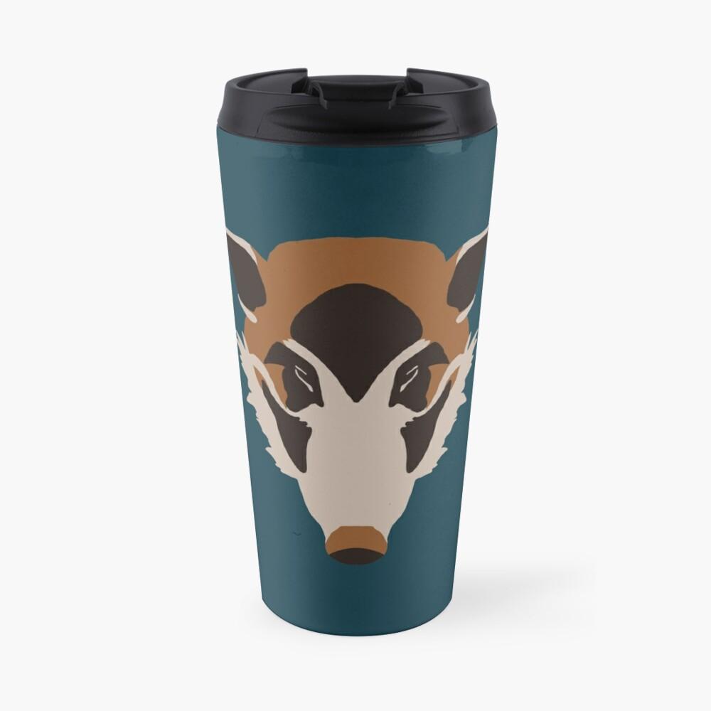 Red River Hog Face Travel Mug