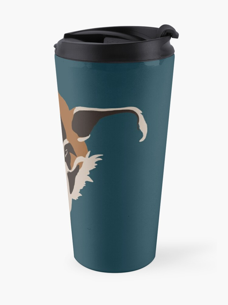 Alternate view of Red River Hog Face Travel Mug