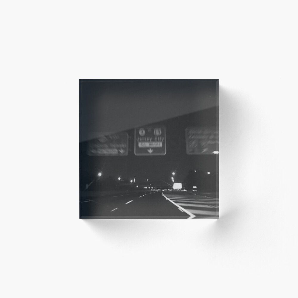 City Night Drive Graphic Vintage Retro Aesthetic Art Board Print By Milkiboba Redbubble