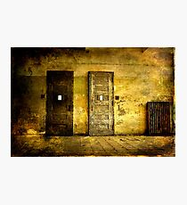 Abandoned Psychiactric Hospital- Textured Photographic Print