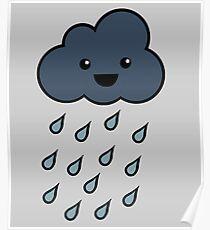 Happy Rain Cloud 3 Poster