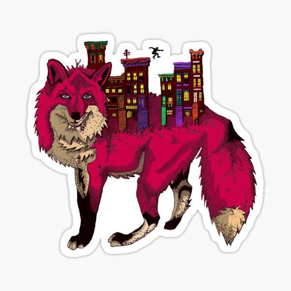 Brownstone Cold Fox Sticker