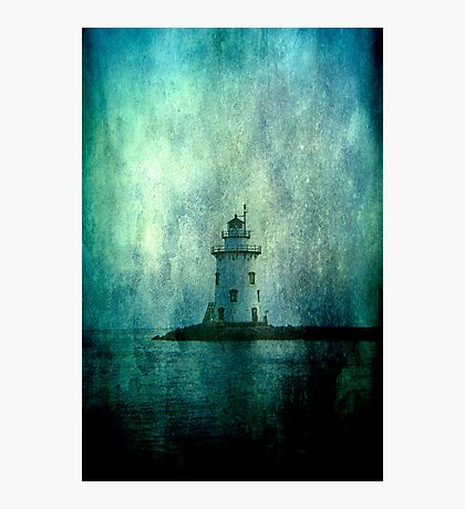 Lighthouse- Textured Photographic Print