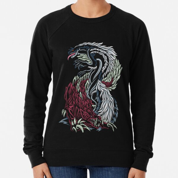 Monster Hunter - Tobi-Kadachi and Odogaron Lightweight Sweatshirt