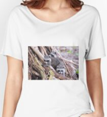Baby Raccoons Women's Relaxed Fit T-Shirt
