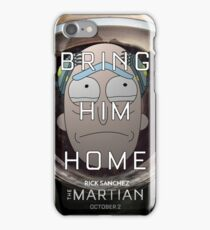 Save Rick! iPhone Case/Skin