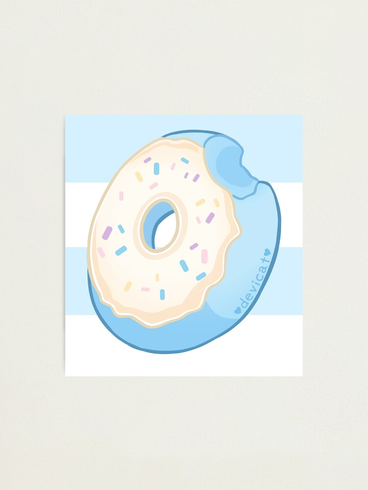 Alternate view of Blueberry Donut - 2020 Photographic Print