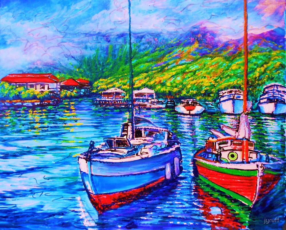 wip 4 Afternoon Reflections Kaneohe Bay by jyruff