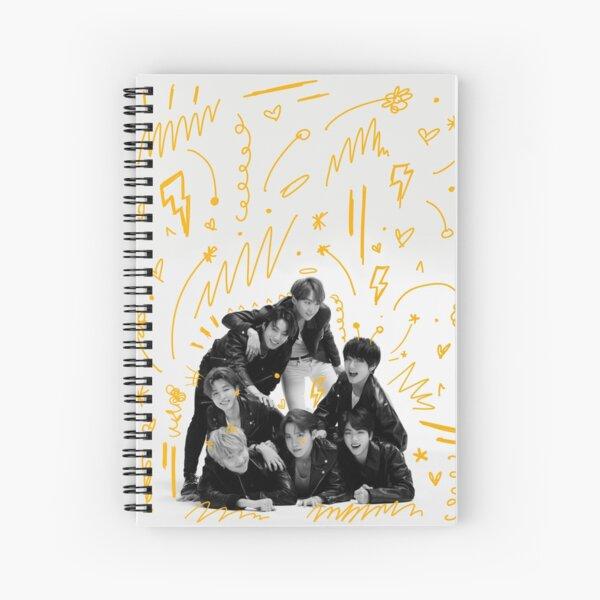 BTS Concept Photo Doodle Spiral Notebook