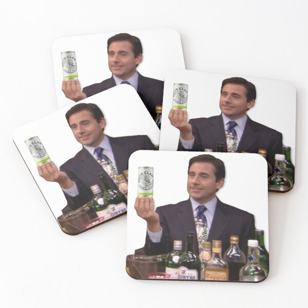 A One of Everything - WC Natural Lime Coasters (Set of 4)