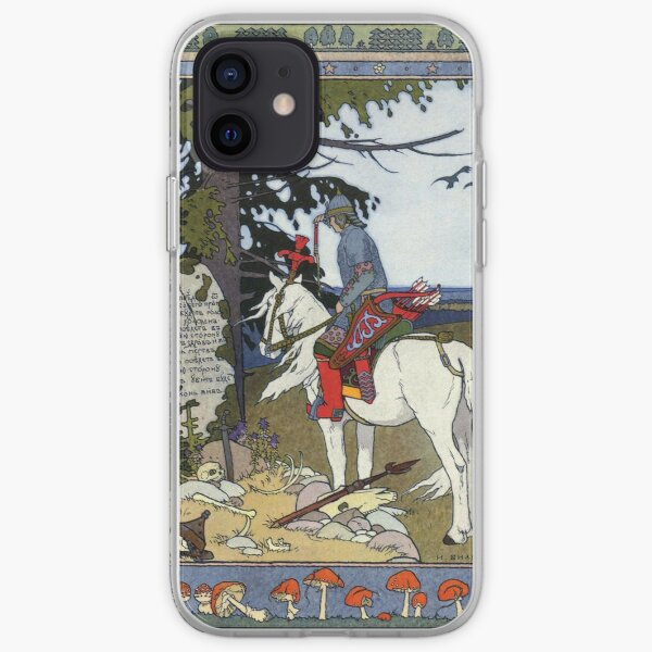 Prince Ivan, The Firebird and the Gray Wolf - Ivan Bilibin iPhone Soft Case