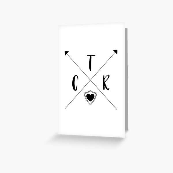 CTR Arrows - Choose The Right - PNG Greeting Card