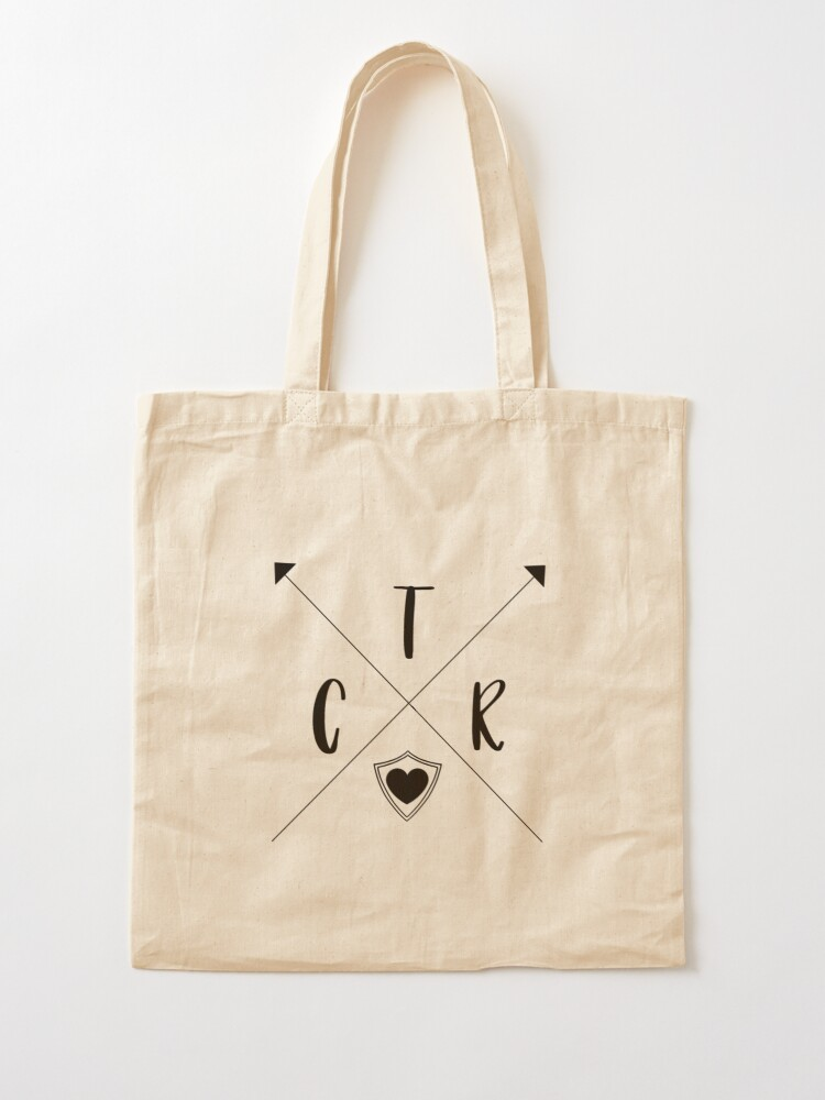 Alternate view of CTR Arrows - Choose The Right - PNG Tote Bag