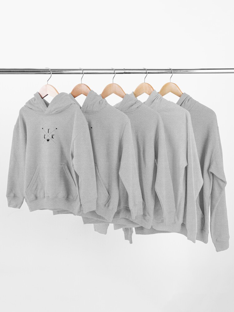 Alternate view of CTR Arrows - Choose The Right - PNG Kids Pullover Hoodie