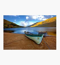 Late evening Lough Nafooey Galway/Ireland. Photographic Print