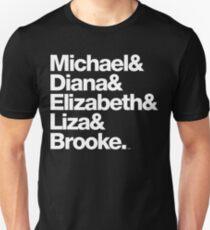 Michael Jackson & Diana Ross & Liz Taylor T-Shirt