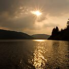 Lake Vyrnwy Sunset by Jenn Louise