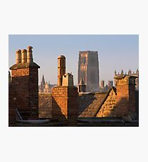 Durham 'Stacks' Photographic Print