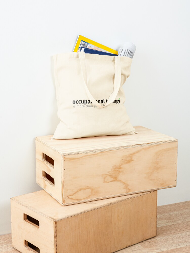 Alternate view of OT is More than just a job Tote Bag