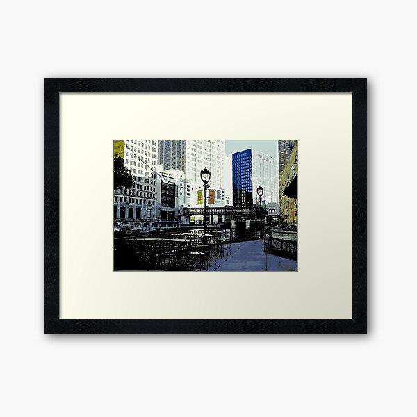 River Walk © Framed Art Print
