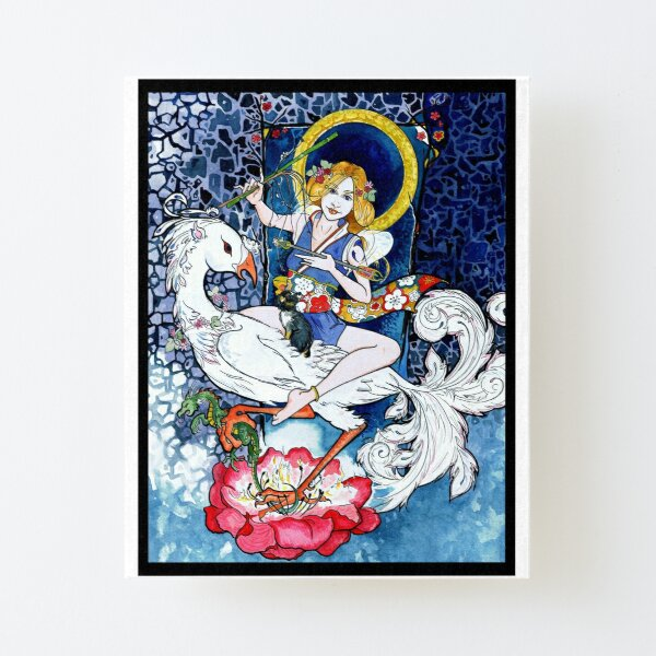 Goddess of Resilience  Canvas Mounted Print