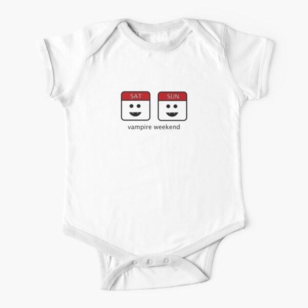 KlsdkurwGR Vampire Weekend 0-24 Months Baby Print Short Sleeve Bodysuit