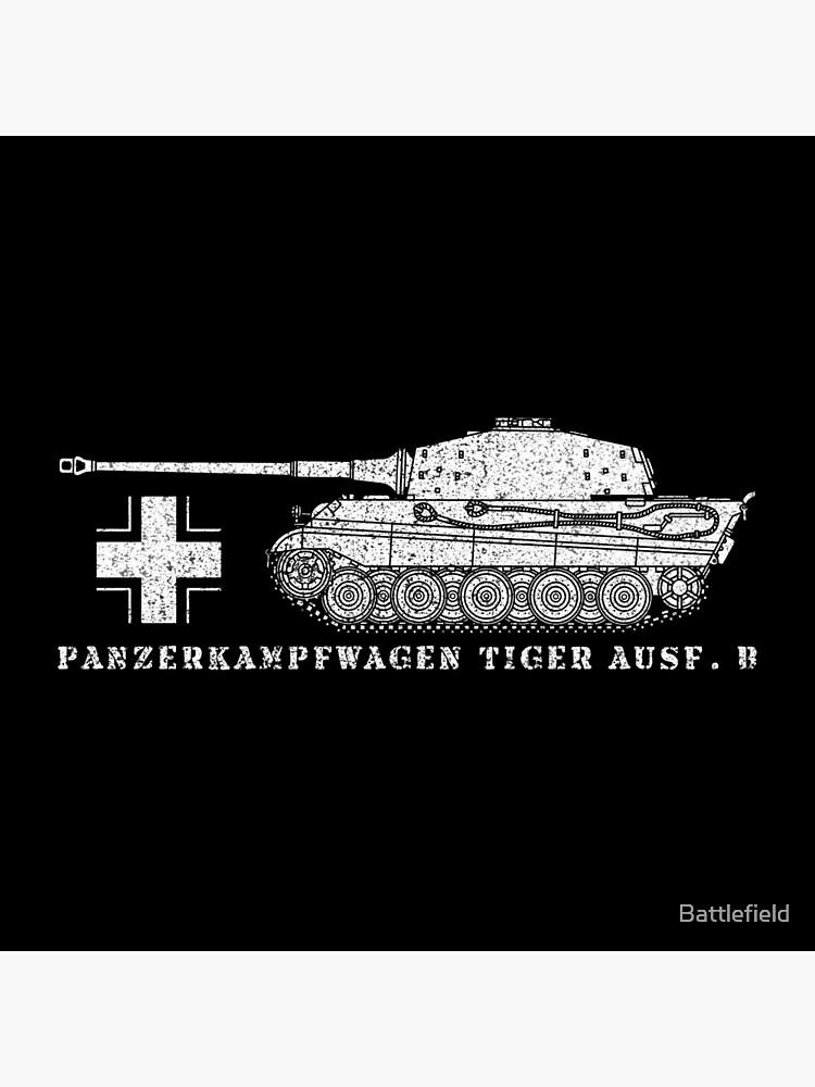 Tiger II German WW2 Tank Panzer Panzerkampfwagen Tiger Ausf. B Gift by Battlefield