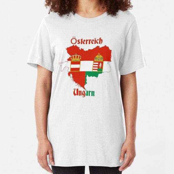Austria Hungary Slim Fit T-Shirt