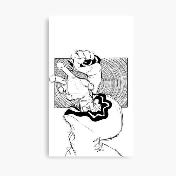The Optical Hand Canvas Print