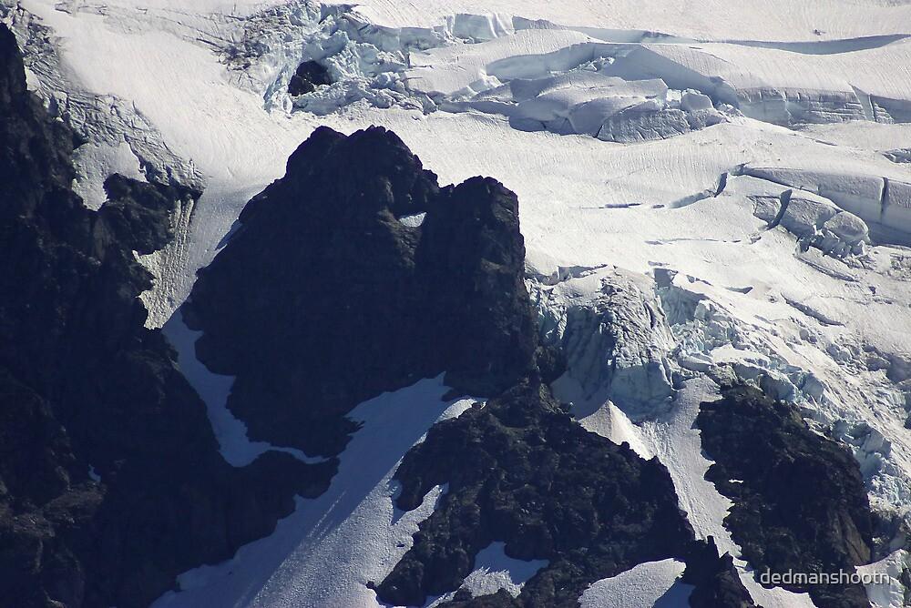 where glacier meets mountain by dedmanshootn