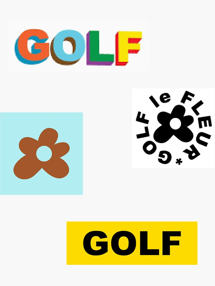 """Golf le Fleur Tyler the Creator Set"" Sticker by Saerayy ..."