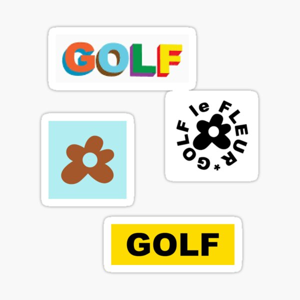 Golf le Fleur Tyler the Creator Set Sticker