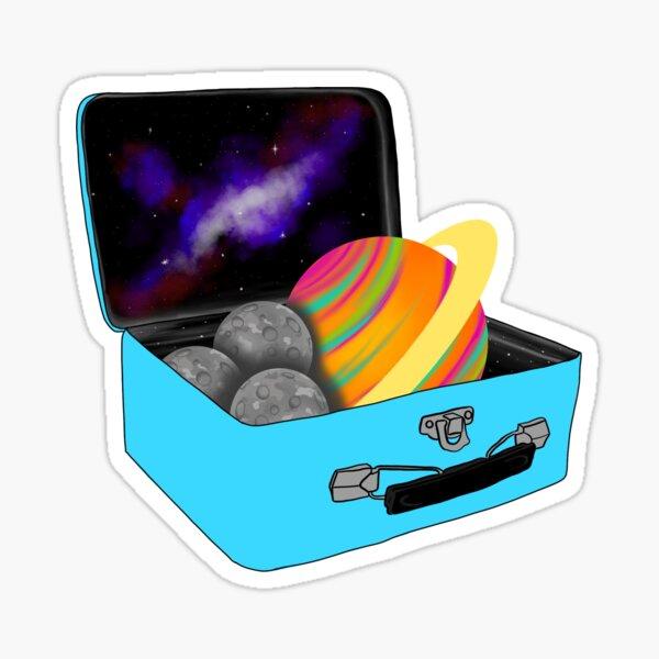 Galaxy Lunchbox Sticker